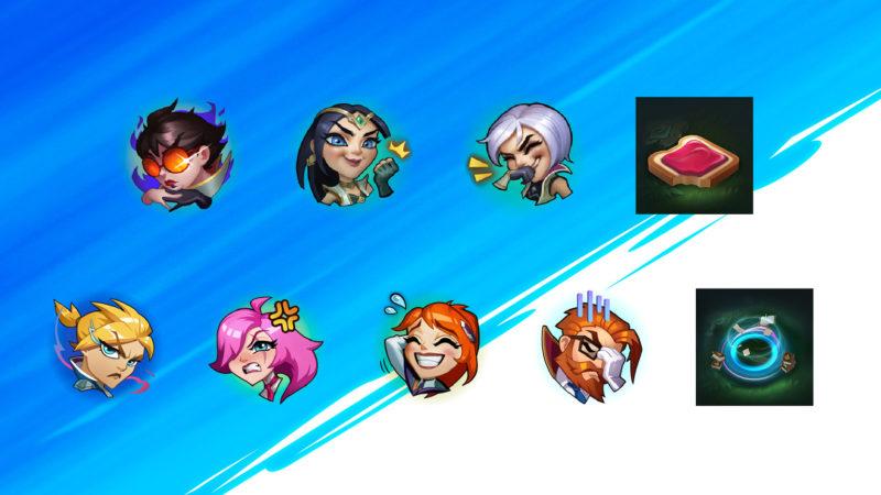 Imagem para ilustrar os Emoets que chegarão no patch 2.3c de Wild Rift