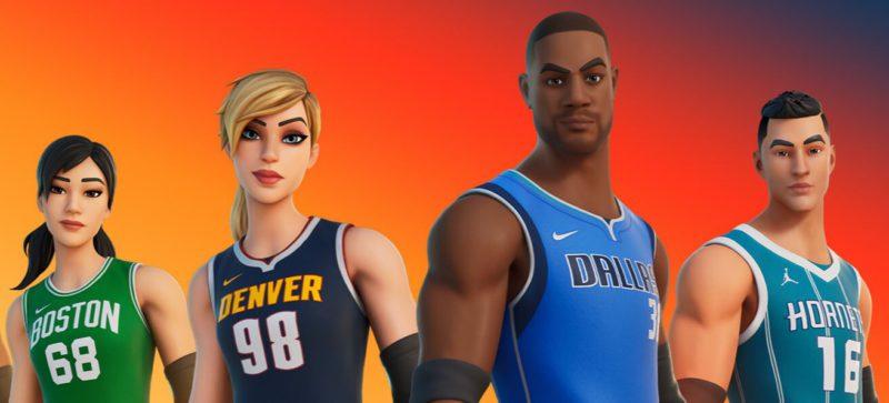 Skins da NBA no Fortnite, incluindo a do Lebron James
