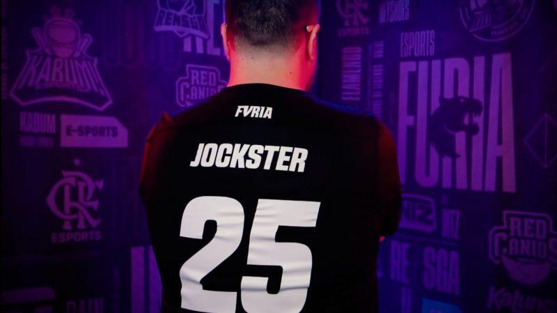 Foto do Jockster, jogador de LoL da FURIA no CBLOL 2021