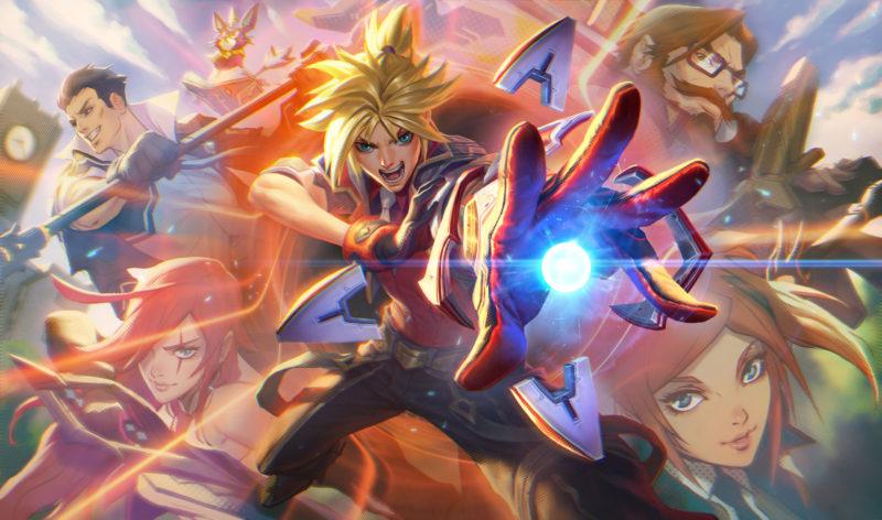 Imagem para ilustrar a chegada das skins Academia de Batalha no Wild Rift