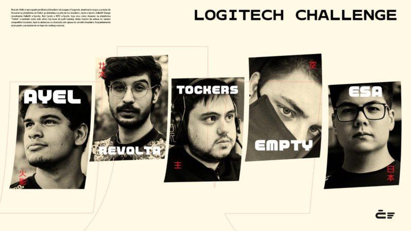 Revolta e Tockers Logitech