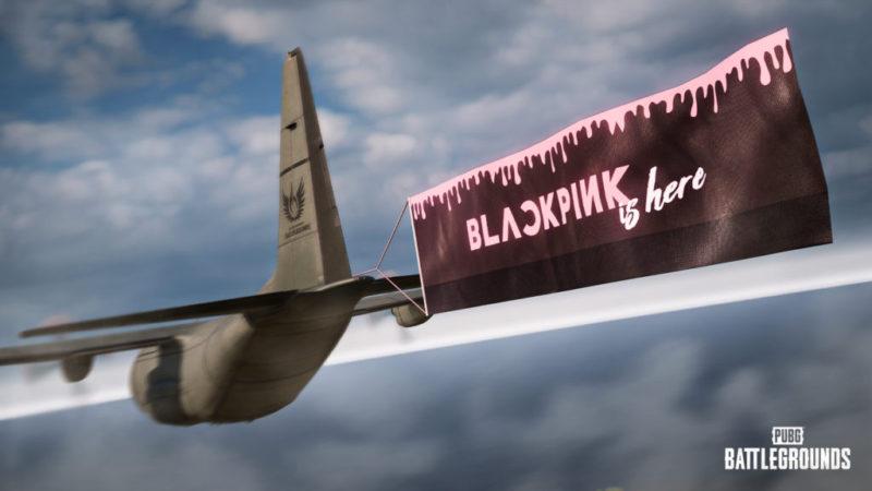 PUBG e Blackpink