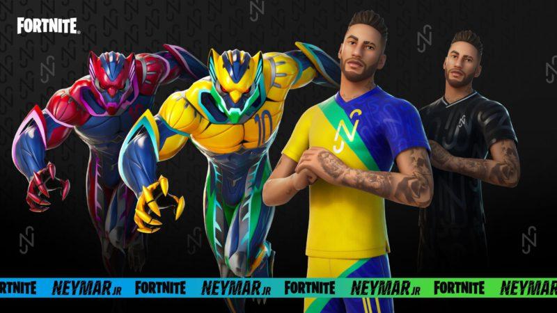 Skin do Fortnite de Neymar