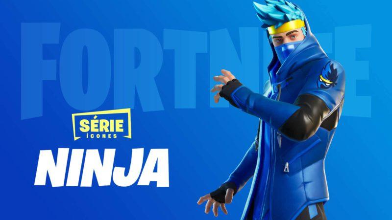 Skin do Fortnite de Ninja
