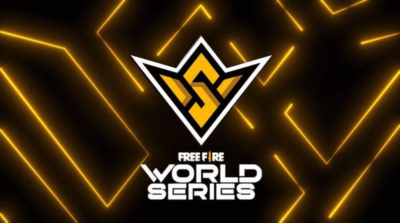 Arte da Free Fire World Series novembro