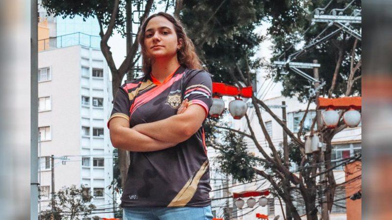 Foto da LyttleZ, jogadora da Jaguares