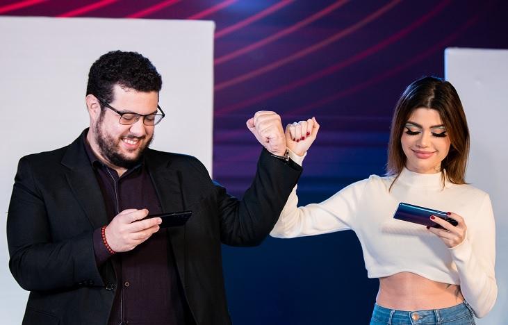 Cajo e Djoko serão anfitriões do reality show do Flamento