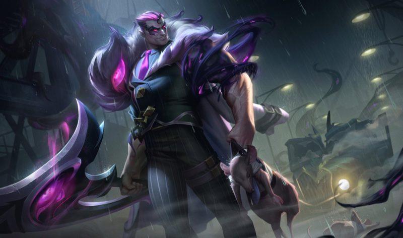 Darius skins Pesadelo na Cidade do Crime