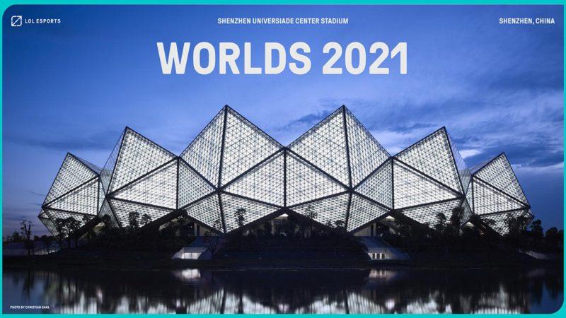 shenzen receberá a final do Worlds 2021