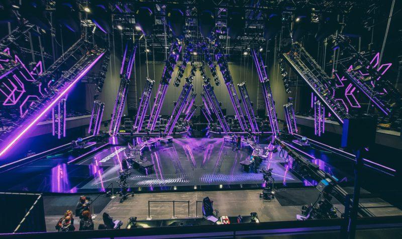 Infraestrutura do palco do VALORANT Masters Berlin