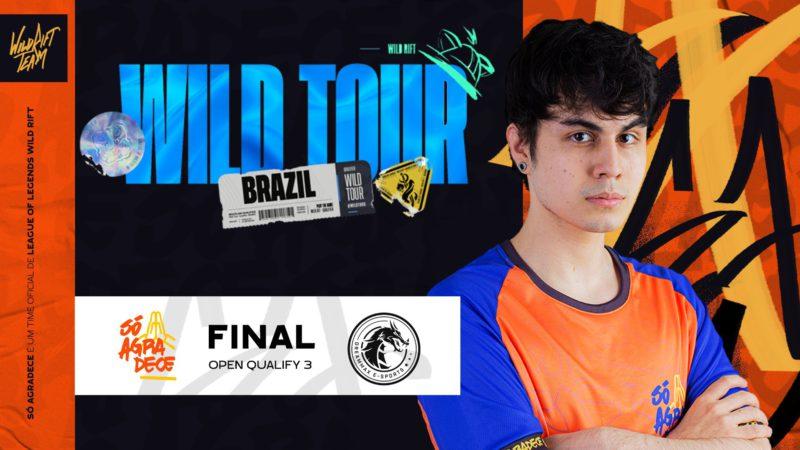 Só Agradece vence terceira seletiva do Wild Tour